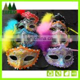 Fashion Masquerade Colorful Feather Mask Party Halloween Karneval masks party