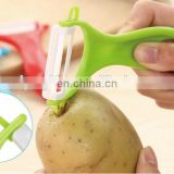 Cheap price promotional gift ABS plastic ceramics cutter potato peelers