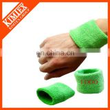 Fashion custom terry cotton sweat wristband