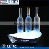 Acrylic Mirror Liquor Bottle Display Shelf / Bar Bottle Glorifiers