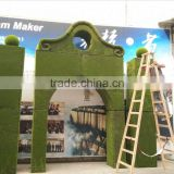 Artificial moss arch for decoration