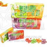 Mixed Fruity Flavor Crispy Sour Soft Candy