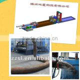 Induction heating pipe bending machine(max pipe dia900mm)