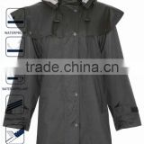 3/4 Waterproof Hooded Horse Riding Clothes