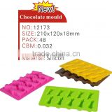 2014 wholesale silicone chocolate mould