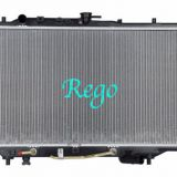 Mazda Protege 90 - 95 Car Radiator Replacement Plastic Tank with Aluminum Core