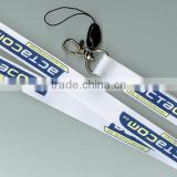 Big woven logo polyester lanyard for promotion