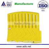 2014 new yellow garden safety plastic traffic barrier manufacturers