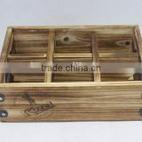 Eco-Friendly Wood Fruit Crate Wine Crate