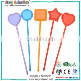 Hot-selling party decoration wedding custom cocktail plastic drink stirrers