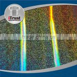 Cheap customer holographic transparent reflective foil