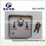 automatic key switch for roling shutter door and garage door opener switch,key selector
