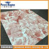 New arrival latest marble texture design 3D foam interior wallpaper