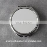 high quality double sided makeup mirror/sublimation blank makeup mirror