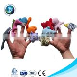 Custom plush funny hand sea animals dolls finger puppet fashion stuffed plush puppet finger