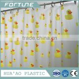 <b>yellow</b> duck design clear transparent <b>shower</b> <b>curtain</b> water proof