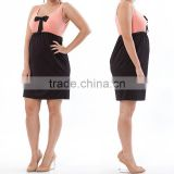 hot sale sleeveless solid dress pregnant woman dresses