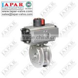 LPA16 series Thin Ball Valve Pneumatic or Electric or handwheel or Turbine Mini Ball Valve