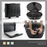 OEM customed plastic suitcase