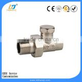 Lockshield manual radiator valve