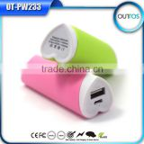 Love heart design Portable mini external batteries power bank with CE FCC ROHS