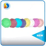 Disposable round paper doilies