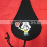 hot item promotional polyester PVC coated bike seat cover