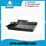Swellder black hydroponic fodder tray
