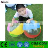 Factory beautiful bromotional PVC inflatable beach ball for kids
