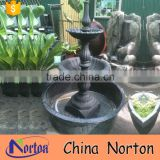 New design cast iron garden fountains with pump NTIF-013Y