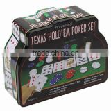 200pcs Poker Chips Set in Tin box