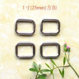 sell 25mm Rectangle  buckle Quadrilateral buckle Handbag buckle Strap buckle