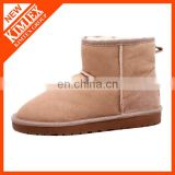 classical sonw sand ankle boots