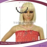 cheap short nice cute blond straight synthetic bob style party wigs