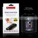 anti-spy and anti-blue tempered glass screen protector for sumsung , new premium electric privacy glass screen protector