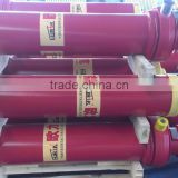 multistages single acting tipper dump truck hydraulic cylinder