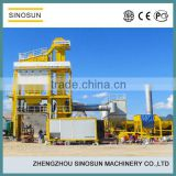 CE ISO certificated,factory direct sell SAP120 asphalt mixing machinery for road project construction