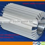 most welcomed and best quality extruded aluminium heatsink for industry use with CNC machining