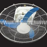 18 inch low price electric orbit fan - blue turbo max orbit fan strong wind with rotary switch control wholesale cheap price