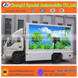 JAC Truck Advertisement LED Display with 2 Sides Lifting P10 or P6 Screen