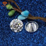 China VVS Pure white 8*8mm start cut synthetic loose moissanite diamond very good cutting