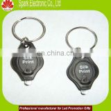 logo promotional keychain led torch