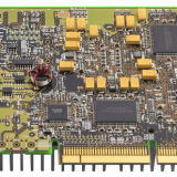 Prototype pcb assembly for digital six-channel electrocardiograph
