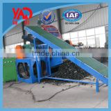 High output rubber old tyre recycling machine / Used Tire Wire Drawing Machine