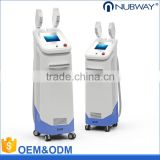 Newest Medical Product 2 Handles IPL SHR Laser machine For Skin Rejuvenation And Permanent Hair Removal