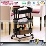 Steel tool trolly salon trolly trolley