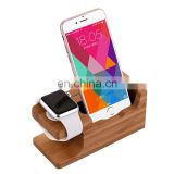 High use wood office gift wood cell phone stand with good quality