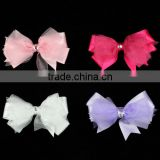 "4.5"" Organza Hair Bow"