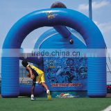 Cheap child Inflatable Football Bat/Adults Football Shooting games/Inflatable American Football Shooter