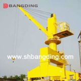 30T electric hydraulic offshore knuckle telescopic boom deck marine crane